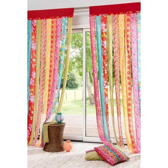 S banas recicladas c mo hacer de todo para el hogar con for Ganchos para cortinas de tela