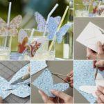 Manualidades para decorar sorbetes en eventos