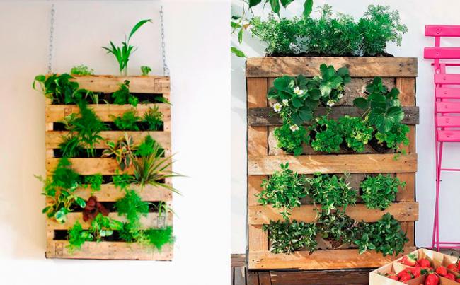 DIY-jardin-vertical-con-palets-para-interior-y-exterior1