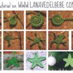 Para esta navidad: Estrellas navideñas tejidas al crochet