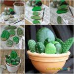 ¡Cactus de piedra! ¿Cómo hacerlos?