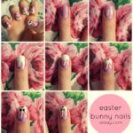 Uñas con nail art con conejitos ¿Cómo hacerlas?