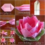 ¡Una flor para otra Flor! ¿Cómo hacer una rosa con la técnica origami?