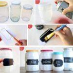 ¡A Reciclar frascos! Ponele onda a una cocina moderna y colorida