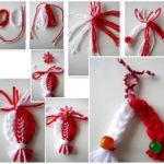 Se aproxima navidad: Adornos muy simpáticos realizados con lana