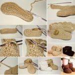 ¡Crochet para los más pequeños! Simpáticas botitas tejidas para bebe