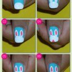 ¡Diversión en tus uñas! Paso a paso para pintar conejos en tus uñas