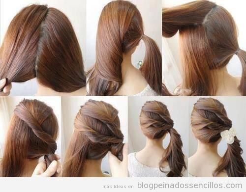 ideas de peinados sencillos para una noche elegante with peinados faciles para boda