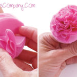 Paso a paso para hacer flores de papel de seda