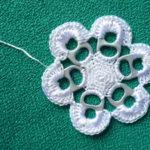 ¡Ponele primavera a tus almohadones! Simples pasos para realizar una flor reciclada al crochet!