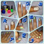 ¡Ponele color a tus uñas! Paso a paso para pintarnos las uñas en rayado