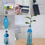 ¡Ponele color a la primavera! Simples pasos para realizar un jarrón de flores reciclado y súper original