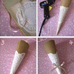 ¿Cómo hacer cucuruchos de papel para entregar como souvenirs?