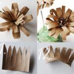 ¿Cómo hacer flores con tubos de cartón para adornar?