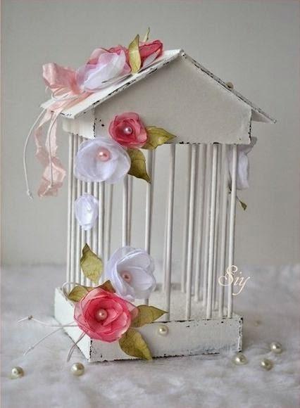 Una jaula para decorar tu hogar confeccionada con telgopor for Cosas para decorar el hogar
