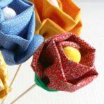 ¿Cómo hacer flores en tela para decorar el hogar?