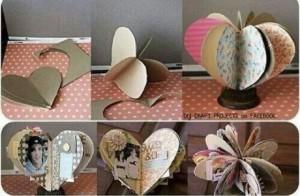 Organizador-de-fotos-de-carton-con-forma-de-corazon-460x300
