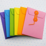 Tarjetas de colores para regalar a mamá en el Día de la Madre