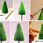 Pequeños Arbolitos para decorar la mesa navideña: ¿Cómo hacerlos?