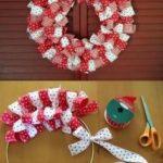 ¡Moños y Corona de cintas para Navidad! ¿Cómo hacerla?