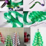 Para estas fiestas…Arbolitos navideños para colgar