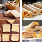 Para la pile de los chicos: Riquísimos rollitos de pan y queso