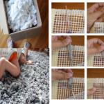 Para que el bebe gatee tranquilo…Alfombra de modal: ¿Cómo hacerla?