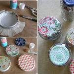 Reciclar tapas de frascos con distintos diseños: Ideas novedosas