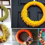 Originales coronas para alegrar las puertas de tu hogar: ¿Cómo hacerlas?