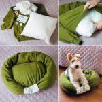 Original cucha para tu mascota con un sweater reciclado: ¿Cómo hacerlo?