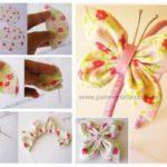 Vincha para nena con mariposa: una idea muy delicada