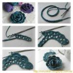 ¡Flores al crochet! ¿Cómo se pueden realizar?