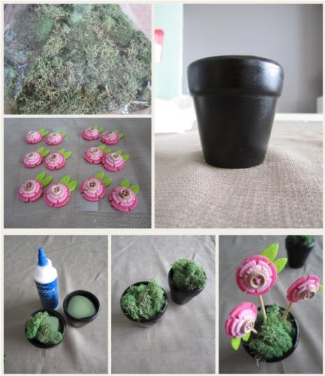 Originales macetas con flores de rosas para centros de for Como disenar un jardin paso a paso