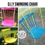 ¡Verano, jardín y colores! Hamacas con sillas recicladas ¿Cómo hacerlas?