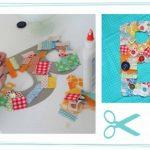 En vacaciones…Ideas para que los niños realicen: letras decoradas