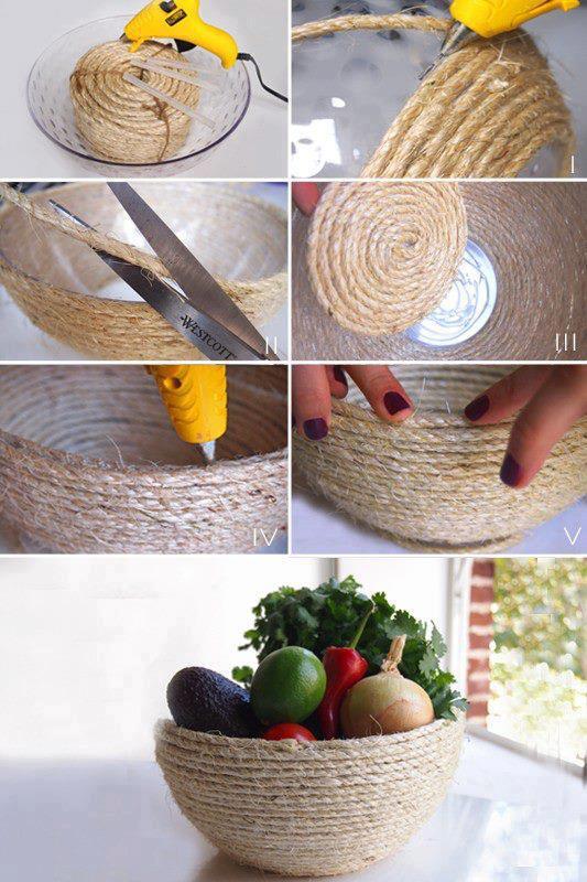 DIY-Woven-Basket-Home-Improvement-Ideas