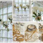 ¡TENDENCIA! Floreros colgantes confeccionados con frascos de vidrio
