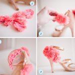 Decorar zapatos de fiesta con bonitos prendedores de flores: ¿Cómo hacerlo?