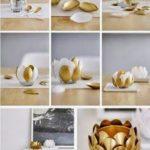 Candelabro con forma de flor con material reciclable: ¿Cómo hacerlo?