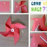 ¿Cómo se hace un Molinete de papel? Ideas para los mas pequeños de la casa