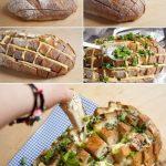 ¡El permitido del finde! Riquísimo pan relleno con queso y cebolla de verdeo