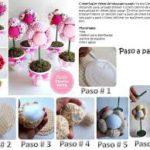 Macetas con flores en tela para centros de mesa: ¿Cómo hacerlos?
