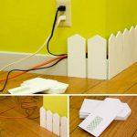 ¡Protege a los que más queres! Original cubre cables para decorar el hogar