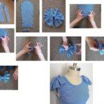 Customizar y reutilizar prendas antiguas: una remera manga larga