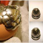Decoración de huevos muy original para las Pascuas