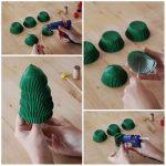 ¡Navidad, amor e ideas! Divertido pino para decorar tu hogar