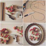 Primavera en tus paredes: Originales cuadros realizados con inicial y flores