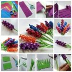 ¡Primavera a tu decoración! Flores de diferentes colores realizadas con papel