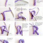 ¡Tendencia por las letras! Paso a paso para hacer letras tejidas con lana o hilo