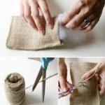 Tiempo de bodas: Original y rustica almohadilla para llevar los anillos
